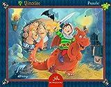 Vincelot Rahmenpuzzle Das geheime Burgverlies (40 Teile)