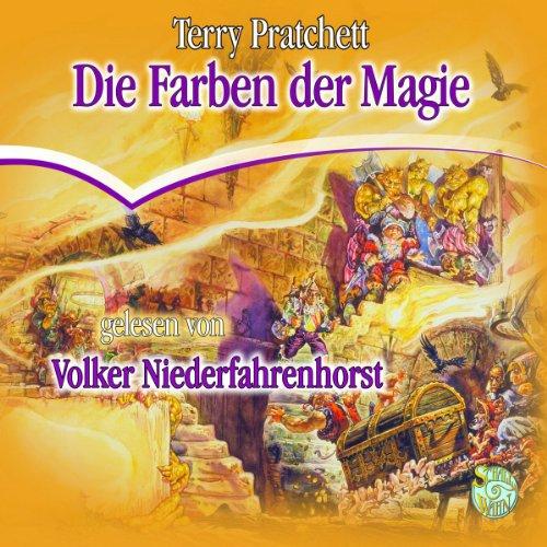Buchseite und Rezensionen zu 'Die Farben der Magie: Ein Scheibenwelt-Roman' von Terry Pratchett