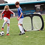The TrigoalTM - Circular Fußballtor - Dreiseitiges Fussballtor -