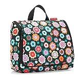 Reisenthel toiletbag XL Vanity, 28 cm, 4 liters, Multicolore (Happy Flowers)