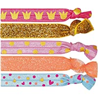 Prinzessin Lillifee Hairbands or Bracelet for Little Girls (5 pieces) Princess