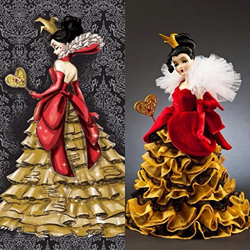 ey Villains Limited Edition Designer Collection Doll with Certificate of Authenticity by Disney (Queen Of Hearts Von Disney)