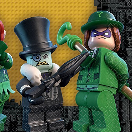 DC Comics Lego Servietten mit Batman-Muster, 25cm ()