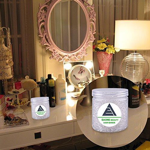 EAONE 1500 Stück Mini Haargummis bänder Transparent Kleine elastische Haar Gummibänder für...