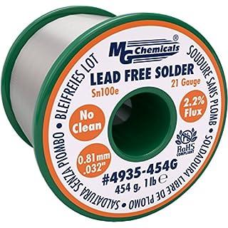 MG Chemicals 4935–454g Spule, keine reinigen, 0,81mm
