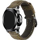 iStrap Cinturino orologio 22mm 24mm 26mm Cinturino orologio militare vintage cinturino cinturino per fascia PANERAI LUMINOR 4