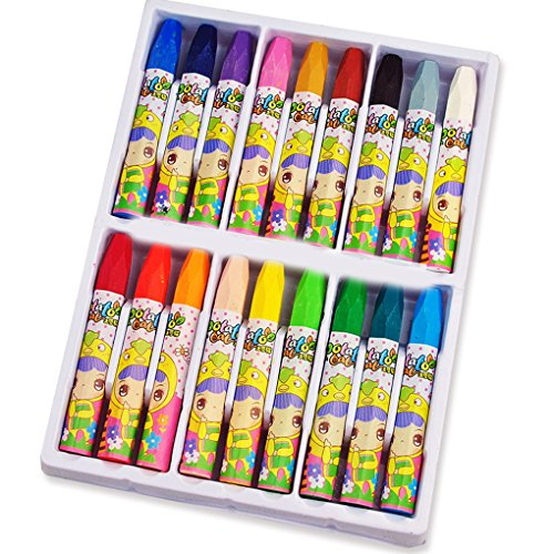 QHGstore Gel Crayons super soft per Brilliant Color e Superior fusione Opere Textures Colore