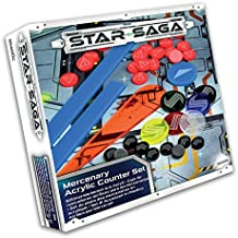 Star Acrylic Saga–Plastic Accessory Set for Mercenaries, 78594