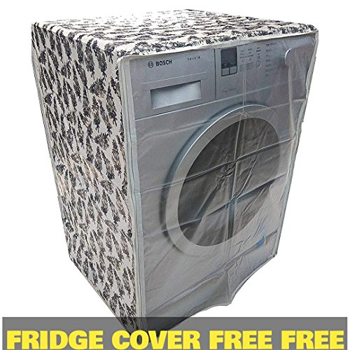 Asima Covers Front Load Washing Machine Cover For Capacity 7Kg,7.5Kg,8Kg & 8.5Kg Only (Width 24Inch ,Depth 24Inch)Supports All Dishwashers