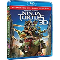 Teenage Mutant Ninja Turtles (NINJA TURTLES (BLU-RAY 3D+2D+DVD), Spanien Import, siehe Details für Sprachen)