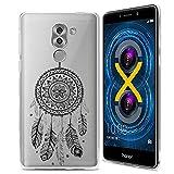 Coque Honor 6X, ocketcase Étui Housse en Silicone Souple Protecteur Shell Gel TPU Back Case pour Huawei Honor 6X(Couleur 01) + Gratuit stylet l'écran aléatoire universelle