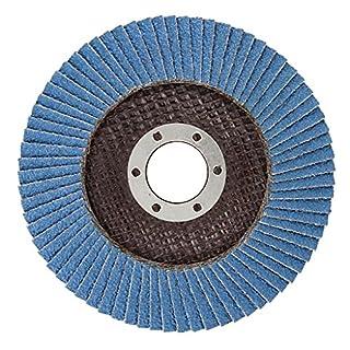 Agera Tools Fächerschleifscheiben Zirkon-Korund, Durchmesser 115 x 22 mm K40, 111115-040