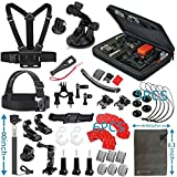 Vanwalk Outdoor Sports Accessories Kit for GoPro Hero 5 4 3+ 3 2 1 session, Action Camera SJ4000 SJ5000 SJ6000 SJ7000 (12in1)