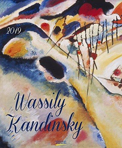 Wassily Kandinsky 2019: Kunst Art Kalender