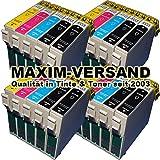 NEUSTE CHIPS funktionieren 100%ig in allen Druckern: 20x Tintenpatronen Set mit allen Farben kompatibel zu Epson T1631, T1632, T1633, T1634 XL (ersetzt Multipack 16 XL) mit Chip kein Original kompatibel zu Epson Workforce WF-2010W WF-2500 Series WF-2510WF WF-2520NF WF-2530WF WF-2540WF WF-2630WF WF-2650WF WF-2660DWF WF-2700 Series WF-2750 WF-2760