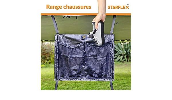 2 emplacements STARFLEX Range Chaussure Universelle pour Trampoline