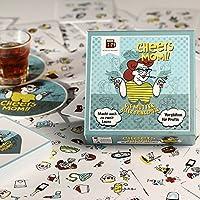 Cheers Mom - Das ultimative Trinkspiel - Bei diesem Partyspiel für Erwachsene bleibt keine Kehle trocken - einzigartiges Saufspiel und perfekte Geschenkidee zum Geburtstag - ein Kartenspiel von BroGames
