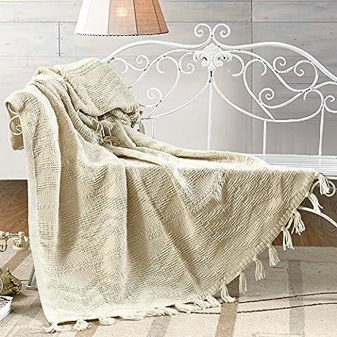 HDWN Ispessimento del lavoro a maglia coperta di lana Nordic contratta mezzogiorno geometrico divano copertina coperta bambini coperta , 110*180