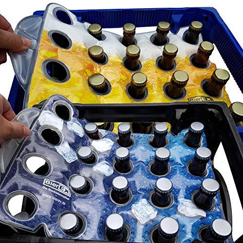 Premium Fußball Bierkastenkühler Bierkistenkühler Flaschenkühler Bierkasten Kühler Bierkühler (24'er Kiste, Fußball)