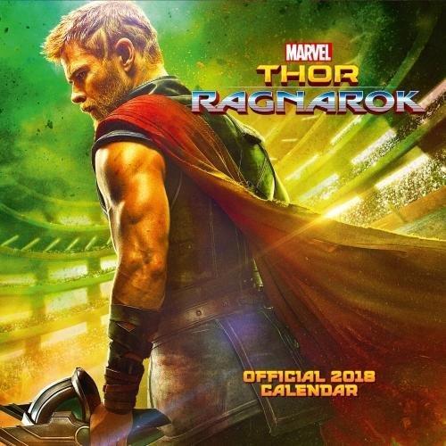 Thor Ragnarok Official 2018 Calendar - Square Wall Format Calendar (Calendar 2018) par Marvel