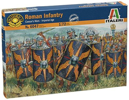 Italeri 6047 - cesar's wars - roman infantry scala 1:72