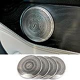 Edelstahl-Verkleidung für Auto-Lautsprecher, Aufkleber, Zubehör