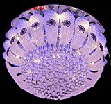 #10: LEd Chandelier (Jhoomar) With Bluetooth Music System usb connection 600mm(Free Wall Decorative Lamp)