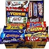 Mega Chocolate Lovers Geschenkkorb Chocolate Selection Box für alle