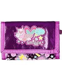 Smiggle Wallet Chirpy Flap Tri-Fold - Purple