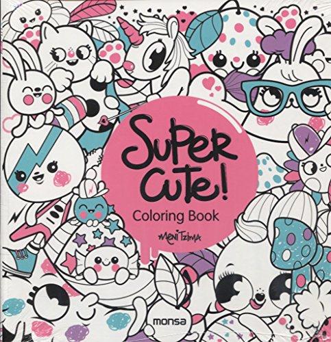 Super Cute! Coloring Book por Meni Tzima