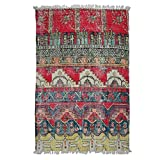 Better & Best 0565844 - Tappeto in cotone stile Vintage, 80 x 130 cm, multicolore