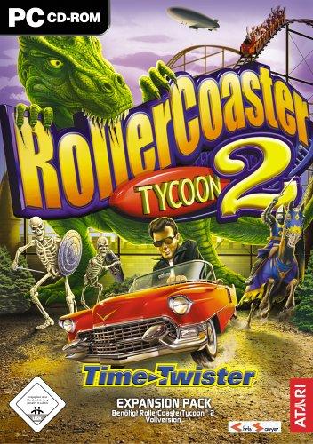 Preisvergleich Produktbild Rollercoaster Tycoon 2: Time Twister (Add-on)