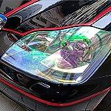 Gazechimp 12 'x84' Scheinwerfer Rücklicht Nebellicht Vinyl Tönungsfolie Aufkleber Wasserdicht