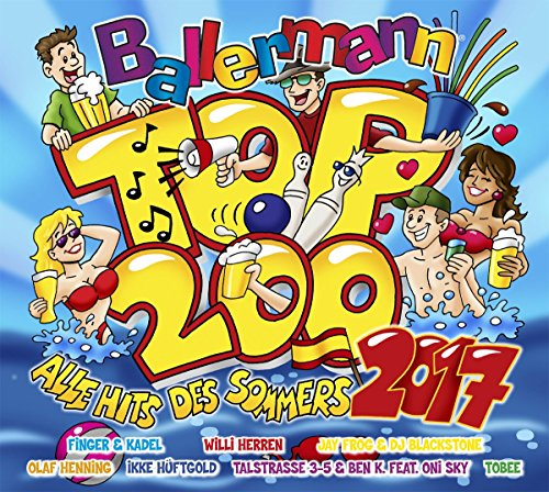 VA - Ballermann Top 200 Alle Hits..<br>Ballermann Top 200 Alle Hits Des Sommers 2017 (2017) [FLAC] Download
