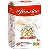 Francine French All Purpose Flour, Baking Flour, Unbleached, Non-GMO, Preservative Free Flour, 1 Kg