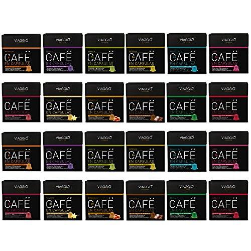 Viaggio Espresso, Cápsulas de café (Surtido, compatible con Nespresso) - 240 cápsulas
