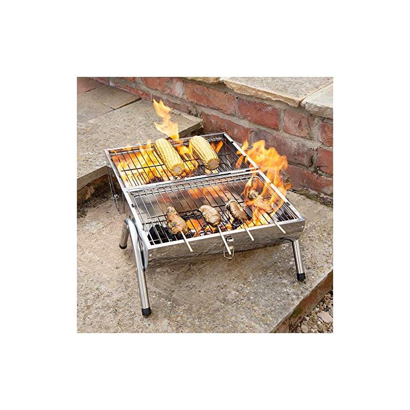 Bonnington Plastics Kingfisher OUTBBQ2 Portable Barrel BBQ
