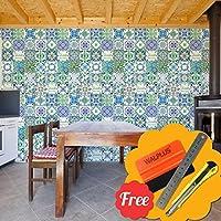 Walplus Entfernbarer Selbstklebend Wandkunst Aufkleber Vinyl Wohndeko DIY  Wohnzimmer Schlafzimmer Küche Dekor Tapete Französisch Spruch Südländischer