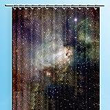 LIUSHIJITUAN Canvas canvas Wasserdicht Mehltau Dusche vorhang,Badezimmer Verdicken sie Polyester Hängenden vorhang Wand vorhang-A 180x180cm(71x71inch)
