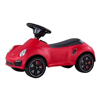 kids push power porsche 911 push ride on car 3 colours red