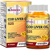 St.Botanica COD Liver Oil 525-90 Softgels