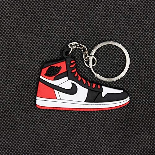 VAWAA Mini Aj1-schlüsselanhänger Klassische Farbe Jordan 1 Generation Sneakers Schlüsselanhänger Custom Aj Schlüsselanhänger Basketballschuhe Schlüssel Ring Für Männer -