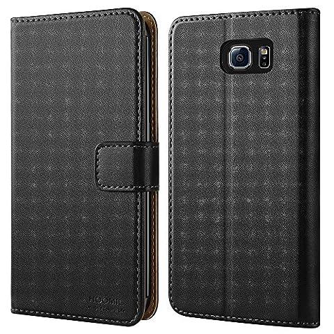 Etui Porte Carte Galaxy S6 - Coque Samsung S6 Edge, HOOMIL Housse en