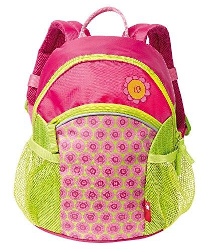 sigikid, Mädchen, Rucksack mit buntem Druck, Blumenfee, Florentine, Pink/Grün, 24002