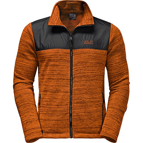 Jack Wolfskin Mens Aquila Unsound Resistant Windproof Fleece Jacket