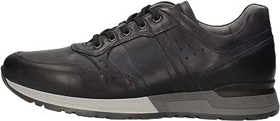 Nero Giardini Scarpe da Uomo Sneakers Pelle Blu A901190U-200