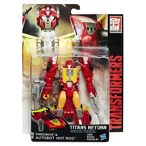 Hasbro C0271ES1 - Transformers Generations Deluxe Autobot Hot Rod Solid, Actionfigur