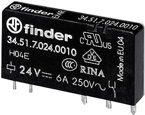Finder 40.52.8.012.0000 Printrelais 12 V//AC 8 A 2 Wechsler 1 St.