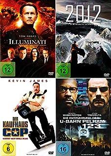 Illuminati + 2012 + Die Entführung der U-Bahn Pelham 123 + Der Kaufhaus Cop (4-DVD)