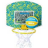 KIPSTA MINI B BASKETBALL BACKBOARD SET - YELLOW BLUE